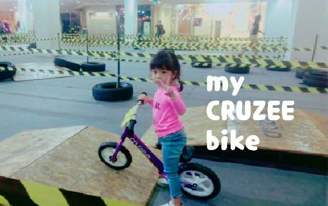 มือใหม่หัดไถ กิจกรรมปล่อยพลังกับ Balance Bikeคันใหม่ของหนู