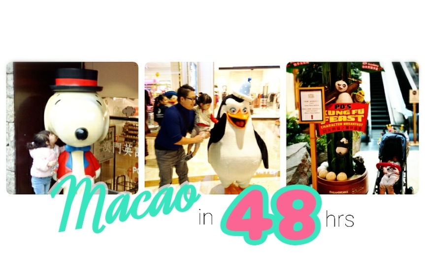 Macao Family Trip #3 Tips เที่ยวมาเก๊าแบบครอบครัวเด็กเล็ก