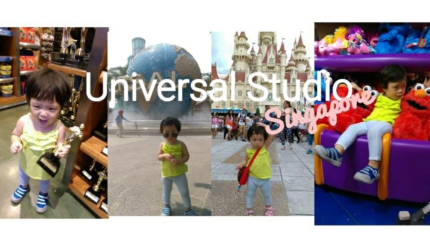 เที่ยว  Universal Studio Singaporeแบบเด็กๆ