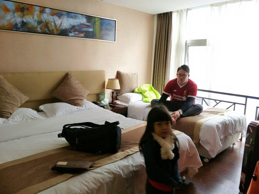 รีวิว รร.จีนเมืองฉงชิ่ง Zilaike Hotel ย่านช้อปปิ้ง Jiefangbei คืนละพัน locationดีงาม